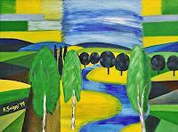 Hanni-Smigaj-Landscapes-Landscapes-Summer-Modern-Age-Expressionism