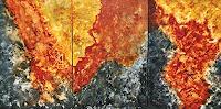 Hanni-Smigaj-Nature-Rock-Nature-Modern-Age-Abstract-Art-Non-Objectivism--Informel-
