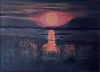 Hanni-Smigaj-Miscellaneous-Landscapes-Nature-Water-Modern-Times-Romanticism