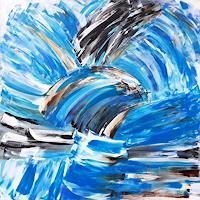 Hanni-Smigaj-Landscapes-Sea-Ocean-Landscapes-Modern-Age-Expressionism-Abstract-Expressionism