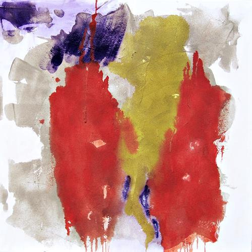 Hanni Smigaj, Botanischer Garten VI - 2018, Abstract art, Nature, Non-Objectivism [Informel]