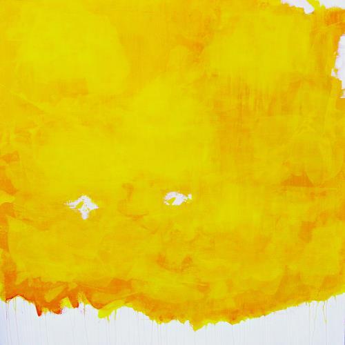 Hanni Smigaj, Botanischer Garten XIII - 2018, Abstract art, Abstract art, Colour Field Painting