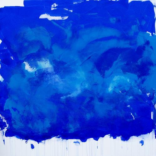Hanni Smigaj, Botanischer Garten XIV - 2018, Abstract art, Abstract art, Colour Field Painting