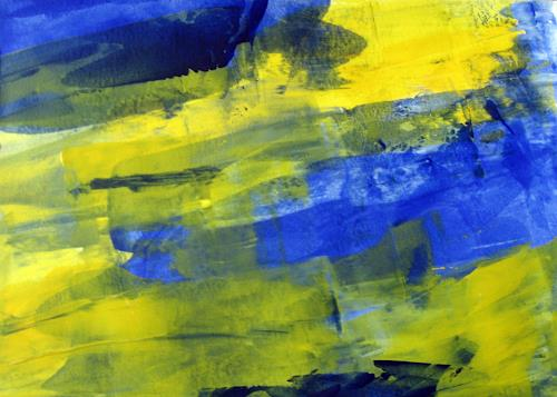 Hanni Smigaj, O/Titel I - 2018, Abstract art, Abstract art, Non-Objectivism [Informel]