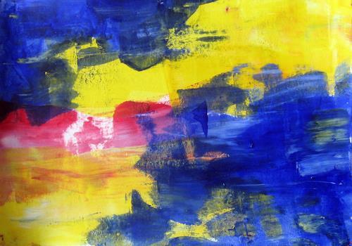 Hanni Smigaj, O/Titel II - 2018, Abstract art, Abstract art, Non-Objectivism [Informel]