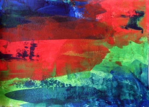 Hanni Smigaj, O/Titel IV - 2018, Abstract art, Abstract art, Non-Objectivism [Informel]