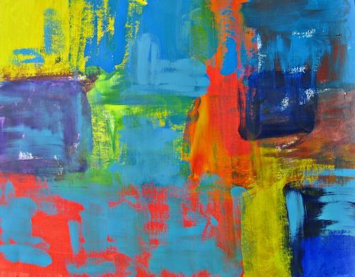 Hanni Smigaj, O/Titel V - 2018, Abstract art, Abstract art, Non-Objectivism [Informel]