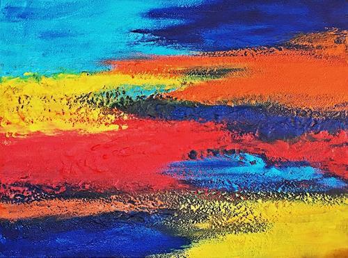 Hanni Smigaj, abstract - V - 2019, Abstract art, Abstract art, Non-Objectivism [Informel]