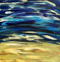 Hanni-Smigaj-Landscapes-Sea-Ocean-Abstract-art-Modern-Age-Abstract-Art-Non-Objectivism--Informel-