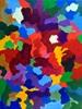 Hanni Smigaj, Gespräch der Farben - VI