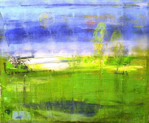 art ilse schill, my world, Abstract art, Landscapes, Modern Age, Expressionism