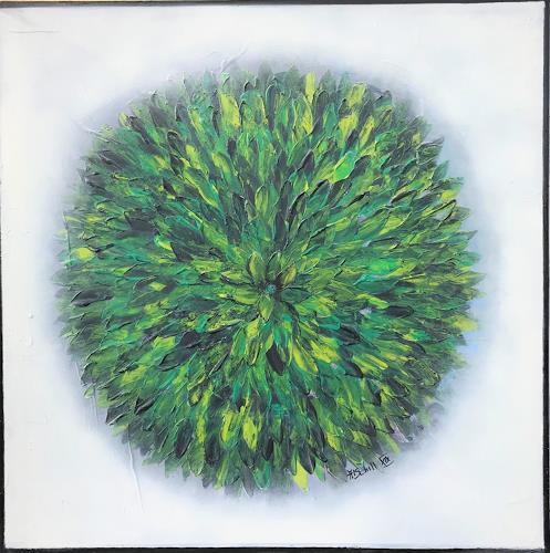 art ilse schill, blossum, Plants: Flowers, Abstract art, Contemporary Art