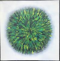art-ilse-schill-Plants-Flowers-Abstract-art-Contemporary-Art-Contemporary-Art