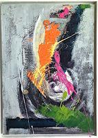 art-ilse-schill-Abstract-art-Fantasy-Modern-Age-Abstract-Art-Action-Painting