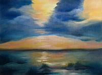 brigitte-spoehr-Romantic-motifs-Sunset-Landscapes-Sea-Ocean-Contemporary-Art-Contemporary-Art