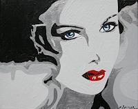 Michaela-Zottler-People-Women-People-Portraits-Modern-Age-Pop-Art
