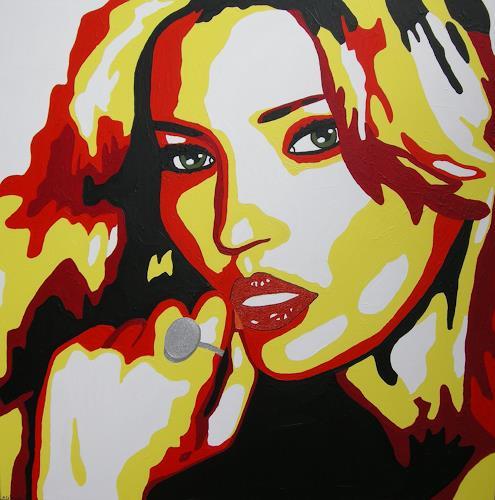 Michaela Zottler, Kate Moss, People: Women, People: Portraits, Pop-Art