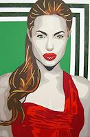 Michaela-Zottler-People-Women-People-Portraits-Modern-Age-Pop-Art