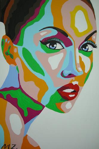 Michaela Zottler, Funky beauty, People: Women, People: Portraits, Pop-Art
