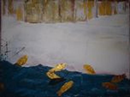 TAY, 9 Goldfische, Nature: Water, Animals: Water