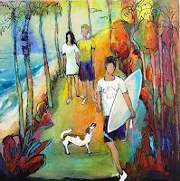 miro-sedlar-People-Children-Modern-Age-Abstract-Art