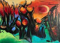 miro-sedlar-Plants-Fruits-Modern-Age-Abstract-Art