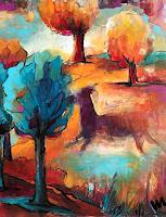 miro-sedlar-Landscapes-Spring-Modern-Age-Abstract-Art