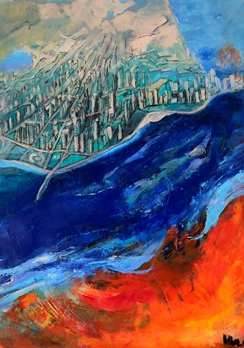 miro sedlar, Chicago, Miscellaneous Landscapes, Abstract Art, Abstract Expressionism
