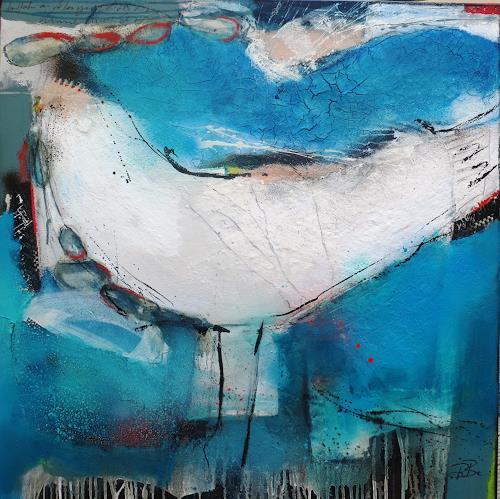bärbel ricklefs-bahr, o.T., Abstract art, Abstract Art, Abstract Expressionism