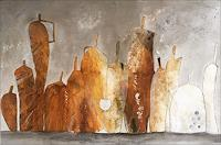 Cornelia-Hauch-Still-life-Interiors-Rooms-Modern-Age-Expressionism-Abstract-Expressionism