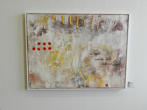 Cécile Banz, Lache..., Abstract art