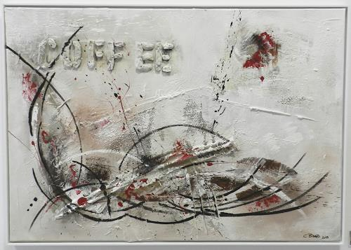 Cécile Banz, sidefiin (Seidenfein), Abstract art, Expressionism