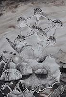 Roland-Spohn-Miscellaneous-Buildings-Plants-Trees-Contemporary-Art-Post-Surrealism