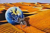 Roland-Spohn-Animals-Land-Miscellaneous-Landscapes-Contemporary-Art-Post-Surrealism