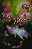 Roland-Spohn-Miscellaneous-Outer-Space-Plants-Flowers-Contemporary-Art-Post-Surrealism