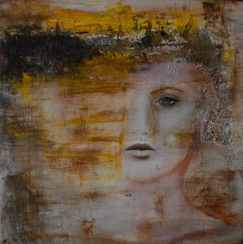 Claudia Neusch, Im Ungewissen!, People: Faces, Miscellaneous Emotions, Modern Age, Expressionism