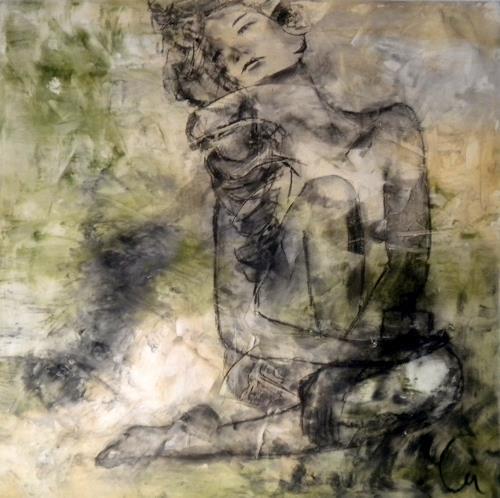 Claudia Neusch, Carita, Erotic motifs: Female nudes, Abstract art, Pop-Art