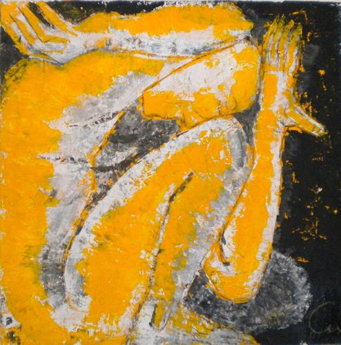 Claudia Neusch, Ruhe, Abstract art, Erotic motifs: Male nudes, Contemporary Art