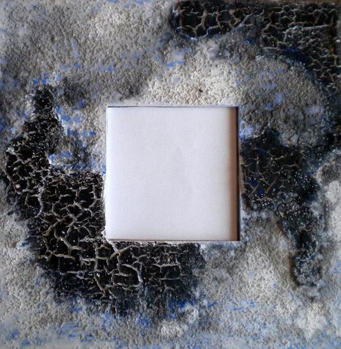 Claudia Neusch, Zersprungen I, Abstract art, Decorative Art, Abstract Art