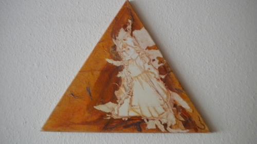 Claudia Neusch, Angel, Abstract art, Fantasy