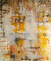 Claudia-Neusch-People-Faces-Abstract-art-Modern-Age-Abstract-Art