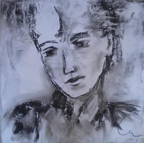 Claudia Neusch, N/T, People, Emotions, Contemporary Art