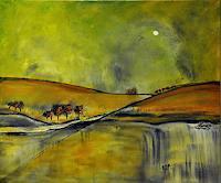 Justyna-Gadek-Abstract-art-Landscapes-Autumn-Modern-Age-Abstract-Art