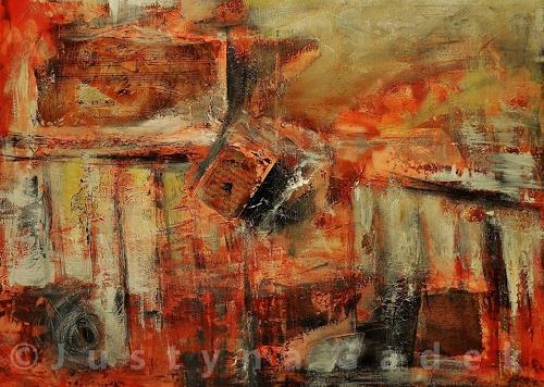 Justyna Gadek, Melodie II, Miscellaneous, Abstract art, Contemporary Art