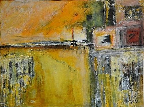 Justyna Gadek, Walk with me, Miscellaneous, Abstract art, Contemporary Art