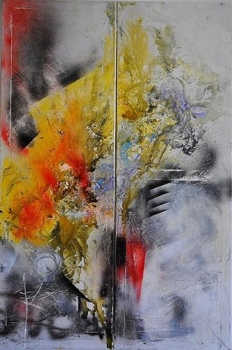 Justyna Gadek, Meet Me Halfway, Miscellaneous, Abstract art, Contemporary Art