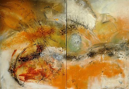 Justyna Gadek, N/T, Miscellaneous, Abstract art, Contemporary Art, Expressionism