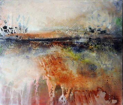 Justyna Gadek, N/T, Abstract art, Miscellaneous Landscapes, Contemporary Art, Expressionism