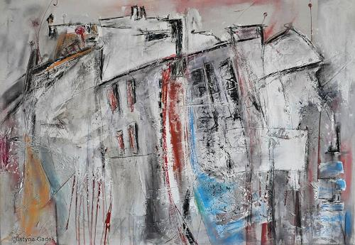 Justyna Gadek, N/T, Abstract art, Miscellaneous Buildings, Contemporary Art