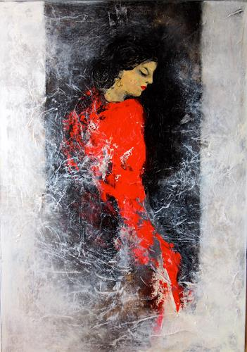 Rose Lamparter, Carmen, Abstract art, People: Women, Abstract Art